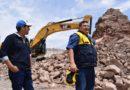 Alcalde supervisó avance de obras del malecón ribereño, coliseo municipal y pistas y veredas en San Antonio