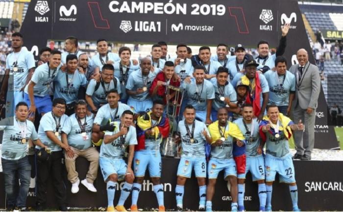 Binacional se coronó campeón nacional 2019.