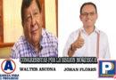 Al 100% de las Actas Procesadas por ONPE Walter Ascona de APP y Johan Flores de Podemos son los 2 Congresistas por Moquegua