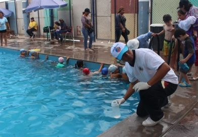 02 piscinas calificadas como saludables para este fin de semana