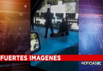 Graban a Policía Municipal de Tijuana quitar la vida a un detenido