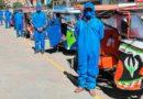 CUSCO | Mototaxistas implementan protocolos sanitarios para retomar actividades