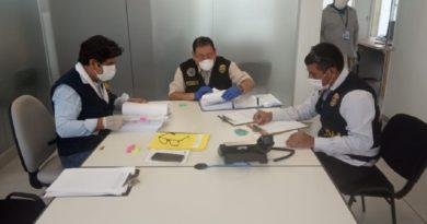Fiscalía realizó interención en oficinas del Gobierno Regional