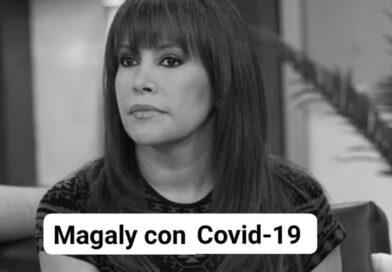 La polémica conductora de espectáculos, Magaly Medina, anunció que dio positivo a COVID-19.