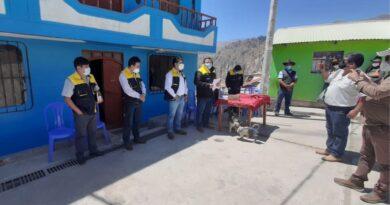 Alcalde inició mantenimiento del palacio municipal de Sacuaya y sorteó puestos laborales.