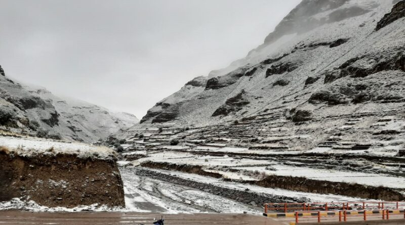 Pronóstico de lluvias y nevadas en la Sierra de Moquegua del martes 20 al viernes 23 de octubre.