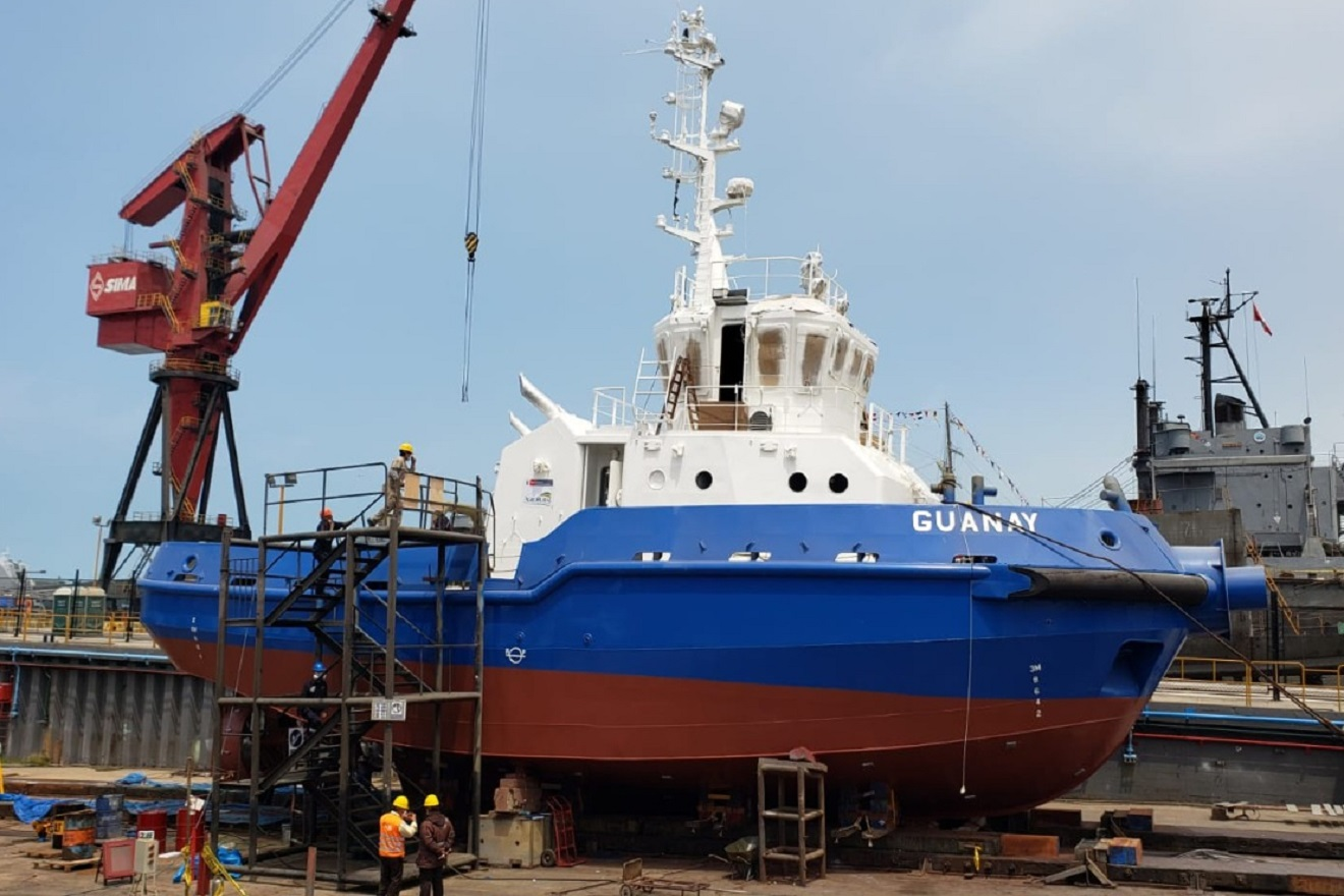 Agro Rural potencia flota marítima con moderna embarcación construída por Sima Perú para el transporte del guano de Islas