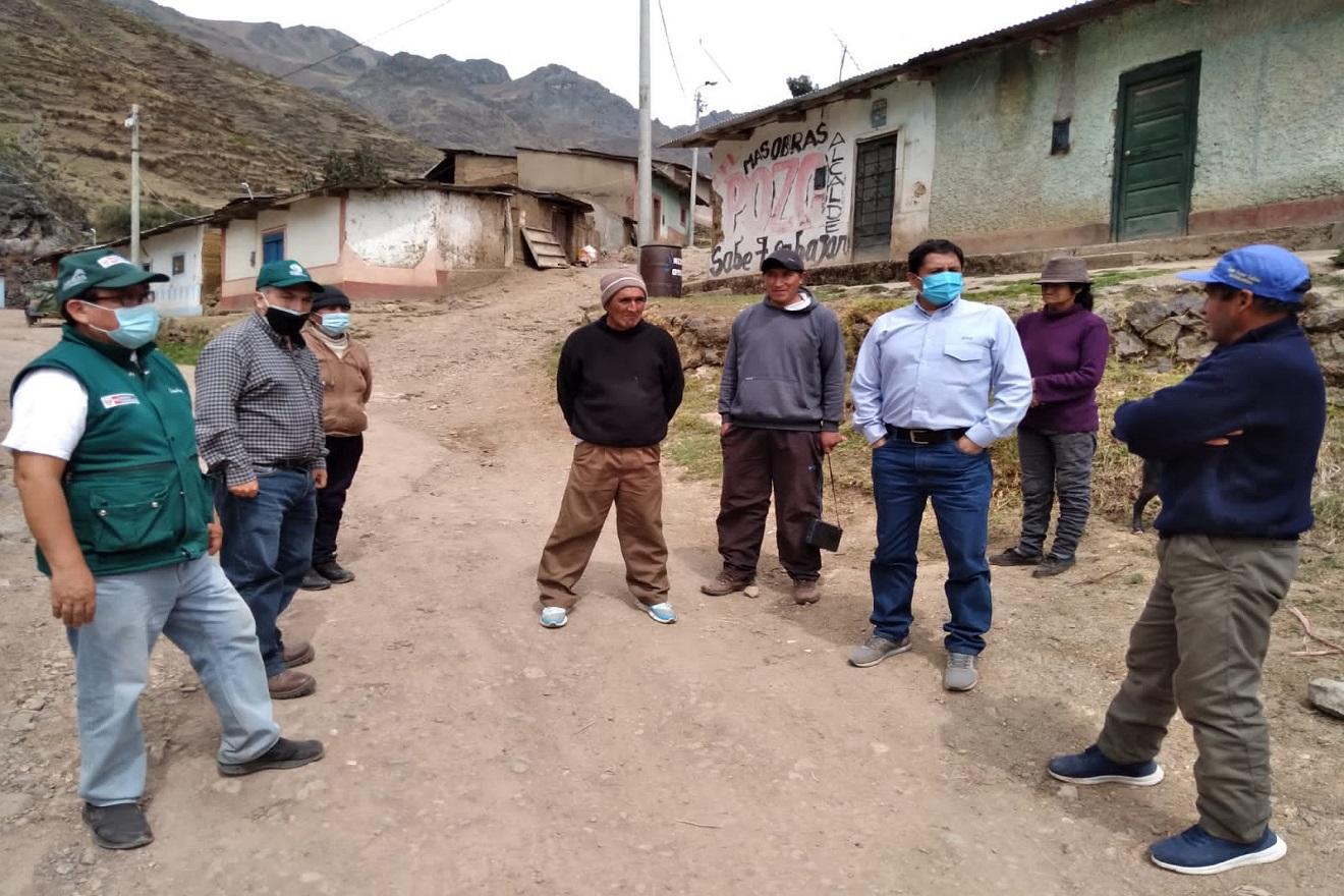 Minagri: Agro Rural y Sedapal inician acciones de cooperación para ejecución de Infraestructura natural en cabecera de cuencas de los ríos Rímac, Lurín, Chillón y Alto Mantaro
