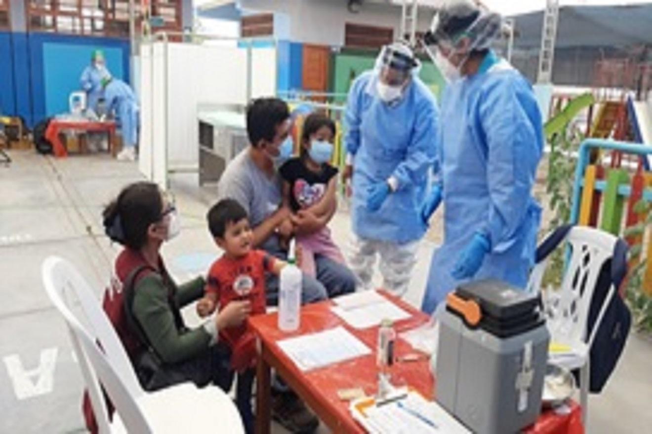 Niños con vacunas completas están protegidos contra la Difteria y otras 25 enfermedades