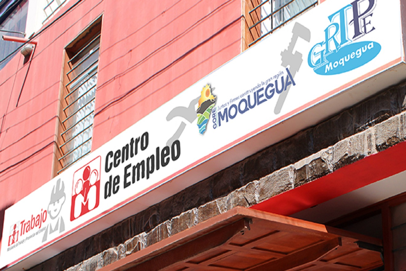 En Mayo de 2020, el empleo formal se redujo 31,7 % en el departamento de Moquegua