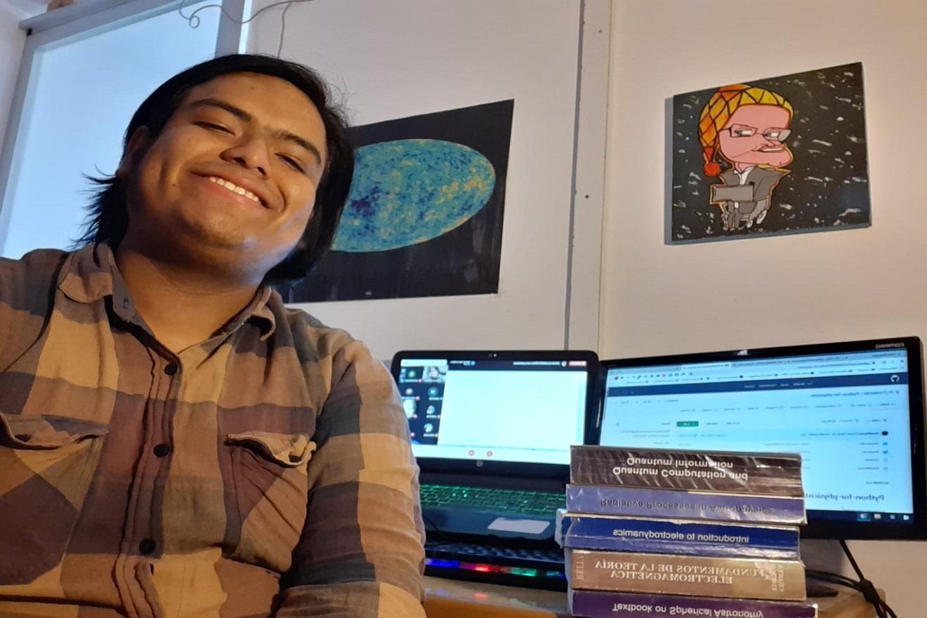 Talento de San Marcos dicta clases gratuitas de física computacional a jóvenes del Perú y Latinoamérica
