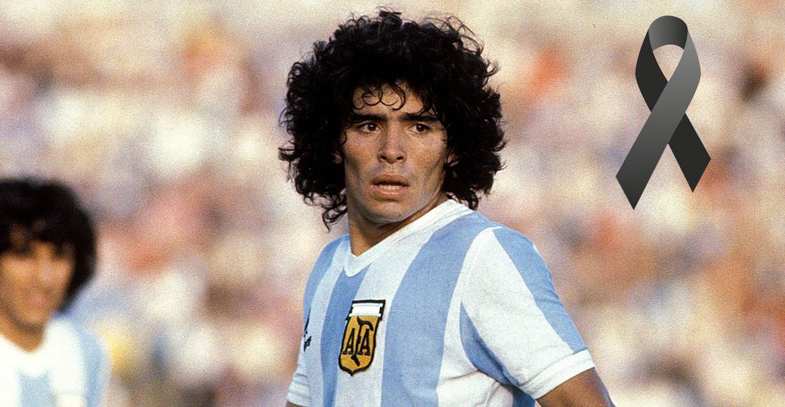 El Diego se fué al encuentro con Dios