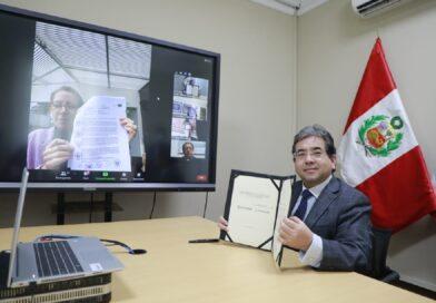 Banco Mundial y la Contraloría trabajarán de manera conjunta en los ámbitos de control
