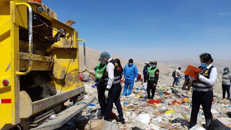 Reciclador pierde la vida al ser aplastado por camión recolector de basura