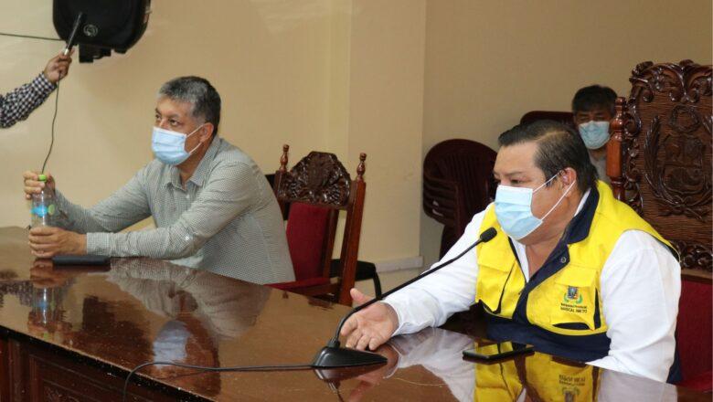 """Alcalde Cárdenas: """"Haremos prevalecer el principio de autoridad, ante invasión de terrenos"""""""""""