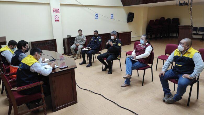 Comité Multisectorial se reunió para tomar acciones en Semana Santa y cierre de Campaña