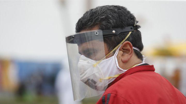 Desde hoy será obligatorio el uso de protector facial para ingresar al Mercado Central