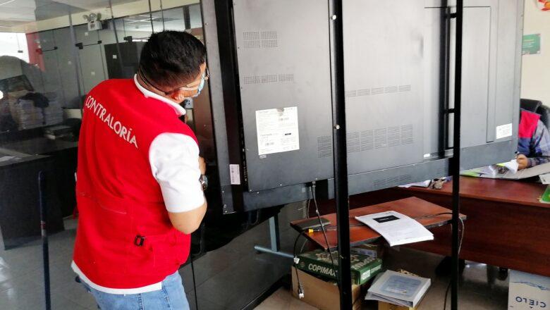 Contraloría detectó irregularidades en compra de pantallas interactivas para colegios en Moquegua