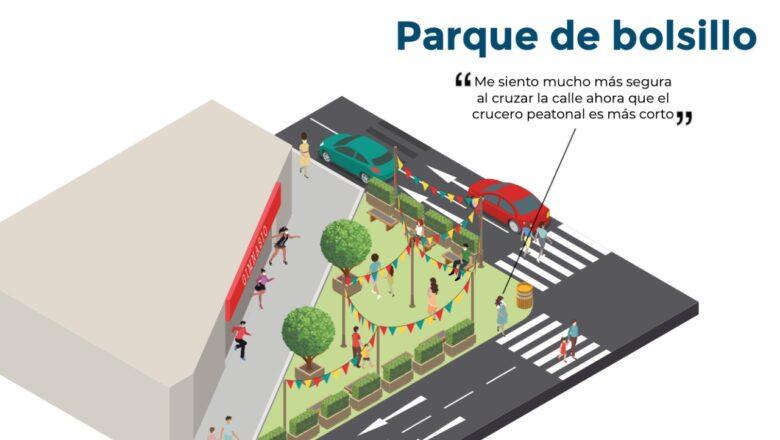 Municipalidades podrán implementar 'supermanzanas' y 'parques de bolsillo' en espacios públicos